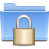 96x96px size png icon of places folder locked