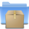 96x96px size png icon of places folder tar