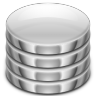 96x96px size png icon of places server database