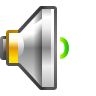 96x96px size png icon of status audio volume low