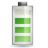 96x96px size png icon of status battery 080