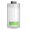 96x96px size png icon of status battery caution