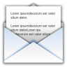 96x96px size png icon of status mail read