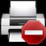 96x96px size png icon of status printer error