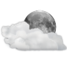 96x96px size png icon of status weather clouds night