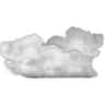 96x96px size png icon of status weather many clouds