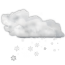 96x96px size png icon of status weather snow scattered