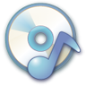96x96px size png icon of Audio cd