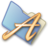 96x96px size png icon of Folder fonts