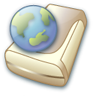 96x96px size png icon of Network hd online