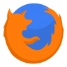 96x96px size png icon of Internet firefox