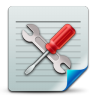 96x96px size png icon of Document config