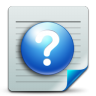 96x96px size png icon of Document help
