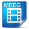 96x96px size png icon of Filetype mpeg