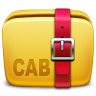 96x96px size png icon of Folder Archive cab