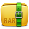 96x96px size png icon of Folder Archive rar