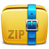 96x96px size png icon of Folder Archive zip