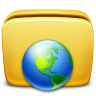 96x96px size png icon of Folder Network
