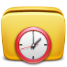 96x96px size png icon of Folder Scheduled Tasks