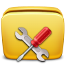 96x96px size png icon of Folder Settings Tools