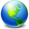 96x96px size png icon of Network Earth