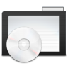 96x96px size png icon of Folder Dark Music