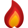96x96px size png icon of hot