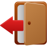 96x96px size png icon of logout