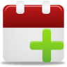 96x96px size png icon of add event