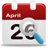 96x96px size png icon of event search