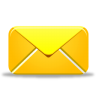 96x96px size png icon of new message