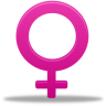 96x96px size png icon of Female