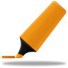 96x96px size png icon of Highlightmarker