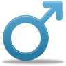 96x96px size png icon of Male