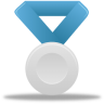 96x96px size png icon of Metal silver blue