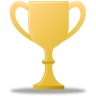 96x96px size png icon of Trophy gold