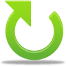 96x96px size png icon of Clockwise arrow