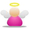 96x96px size png icon of angel