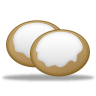 96x96px size png icon of cookies