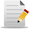 96x96px size png icon of edit file