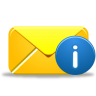 96x96px size png icon of email info