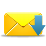 96x96px size png icon of email receive