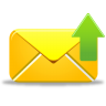 96x96px size png icon of email send