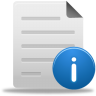 96x96px size png icon of file info