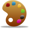 96x96px size png icon of palette