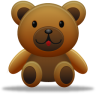 96x96px size png icon of teddy bear