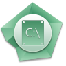 96x96px size png icon of C