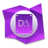 96x96px size png icon of D