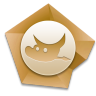 96x96px size png icon of GIMP