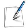 96x96px size png icon of document write